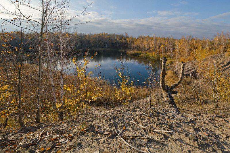 озеро, природа, пейзаж, кондуки, осень У осеннего озераphoto preview