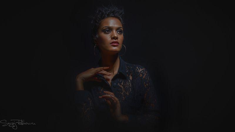 портрет, portrait, студия, девушка, model, portrait CanonRoadShow2018_SPbphoto preview