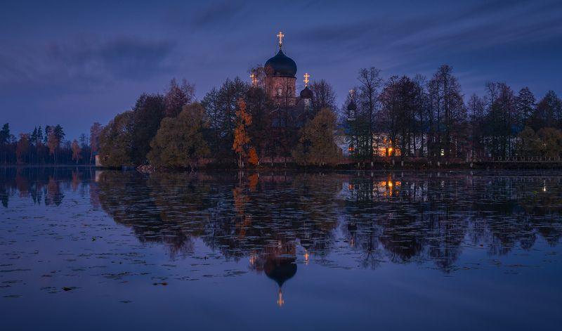 пейзаж, введенское, рассвет, утро, россия, природа, В предрассветный часphoto preview
