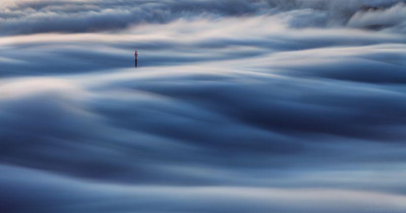 пейзаж,минимал,цвет,туман,кировск,кольский,хибины,россия,осень photo preview
