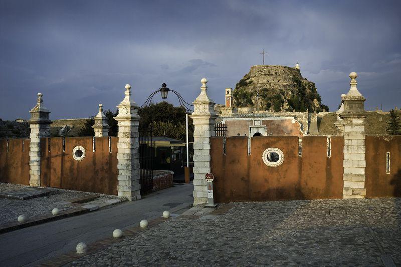 old_fortress  kerkyra  corfu  greece  sunset kodak slrn Старая крепостьphoto preview