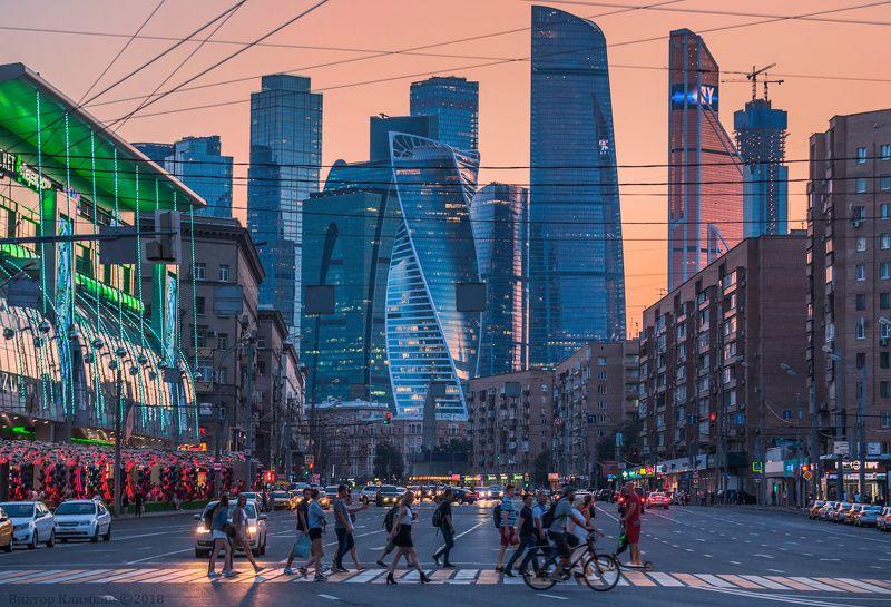 москва, вечер, сити, moscow Москва и москвичиphoto preview