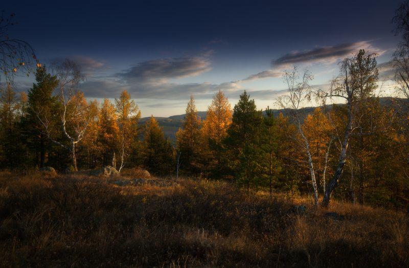урал, горы, абзаково Осень в Абзаковоphoto preview