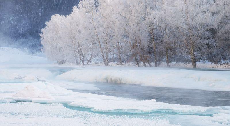...Зимняя река...3photo preview