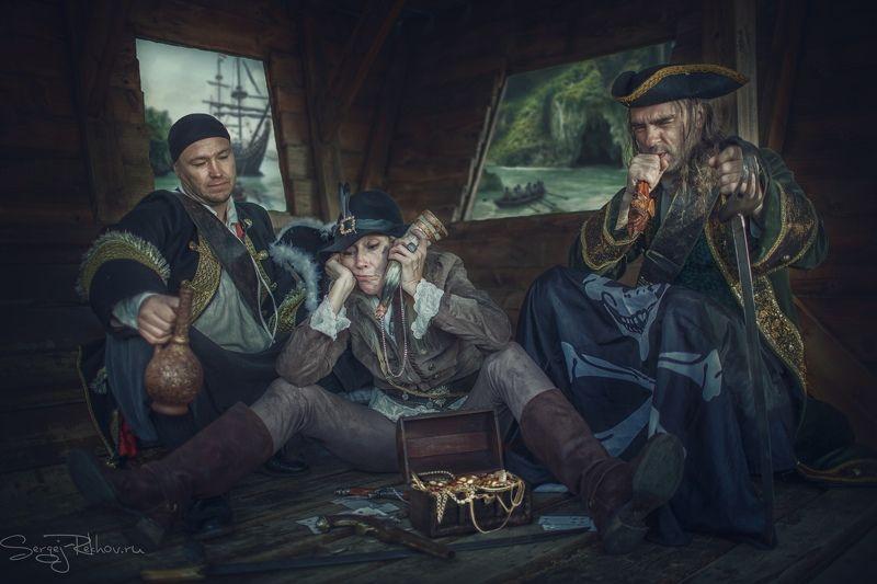 пираты, корабль, море, плавание, отдых Пиратыphoto preview
