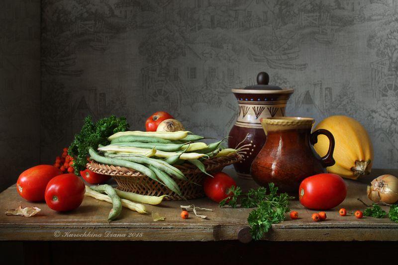 натюрморт, урожай, осень Урожайный натюрмотphoto preview