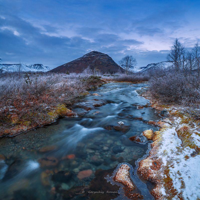 север, кольский, хибины, заполярье,осень, вечер, заморозки, Вечерело.photo preview