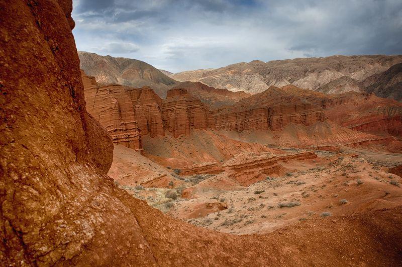 кыргызстан, горы Эоловые замкиphoto preview