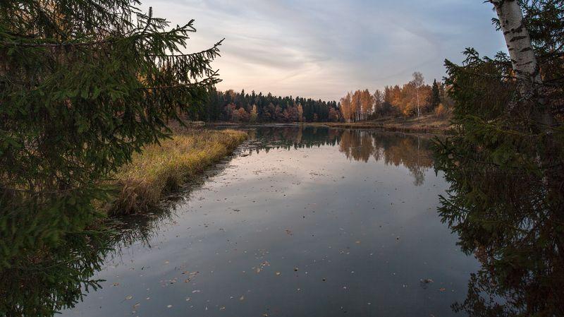 Вечер, Абрамцево, Октябрь, Воря, Подмосковье Знаешь...photo preview