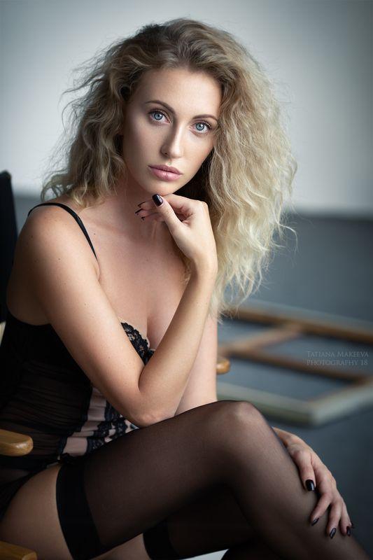 girl, blonde, body, lingerie, blue eyes, popular Svetaphoto preview