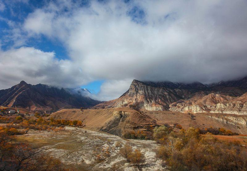 горы,осень,природа,дагестан. Горный пейзаж..photo preview