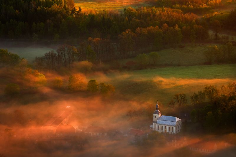 landscape,canon,mist,light,autumn The Delicate Light of Dawn.photo preview