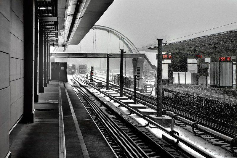 москва, зима, снег, метро, холод I Love This Timephoto preview