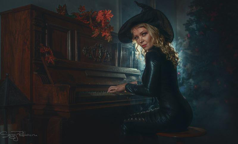 портрет, portrait, студия, девушка, model, portrait, halloween Happy Halloween!!photo preview