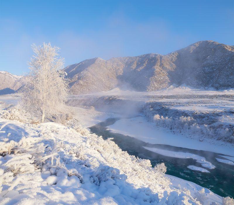 ...Зимняя Катунь...photo preview