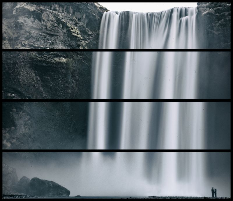 front of the waterfallphoto preview