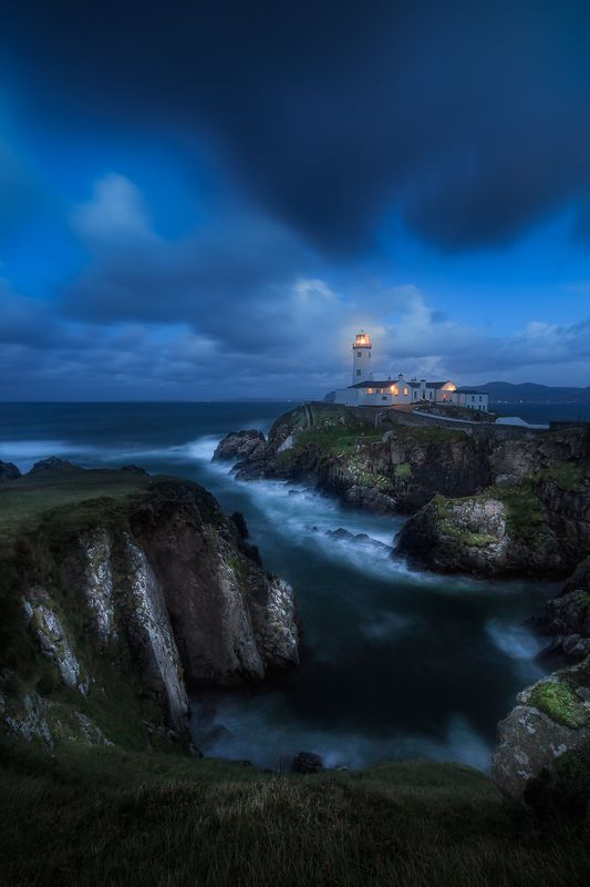 ireland, landscape,fanad head lighthouse, donegal< longexposure Fanad Head Lighthousephoto preview