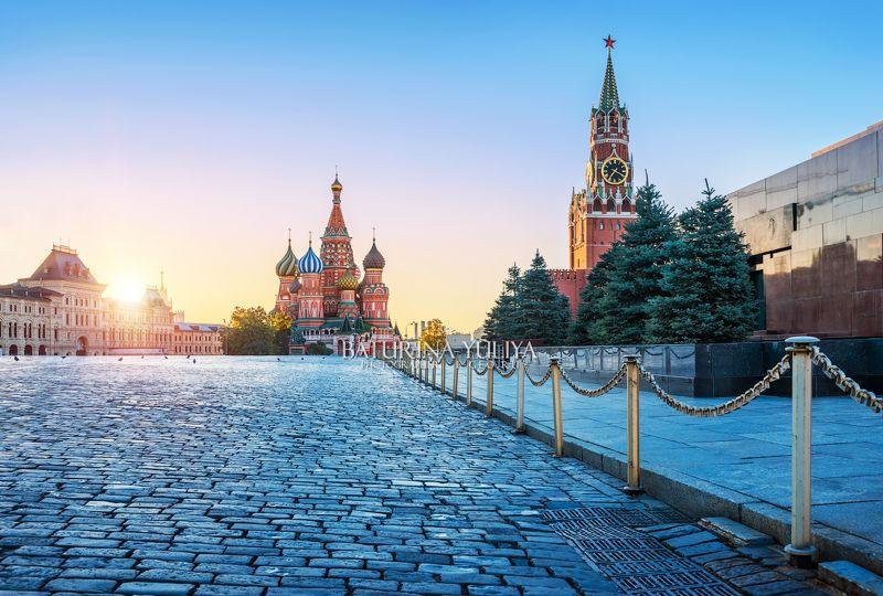 москва, красная площадь, собор василия блаженного Красная площадь для голубейphoto preview