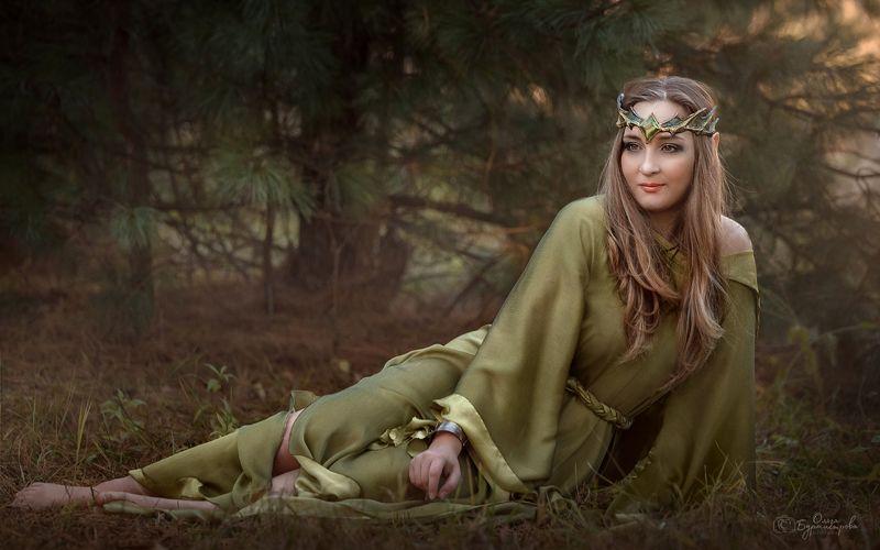 фото в образе, сказка, арт фото, сказочный лес Эльфийкаphoto preview
