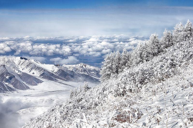 кыргызстан, горы Вечностьphoto preview
