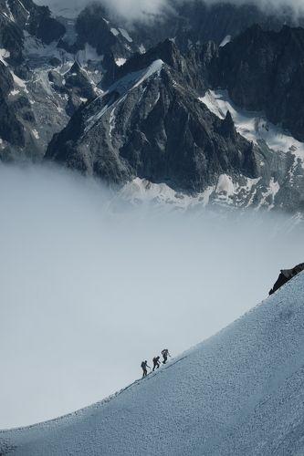 Восхождение в Альпах