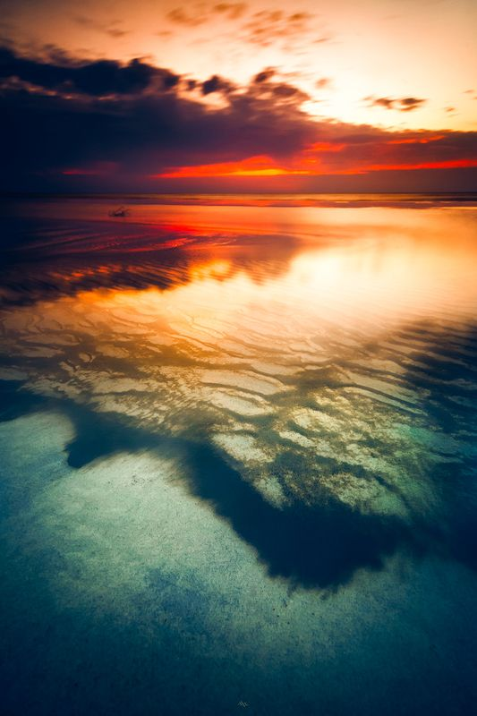 landscape, seascape, baltic sea, sunset, colors, long exposure Baltic Illusionsphoto preview