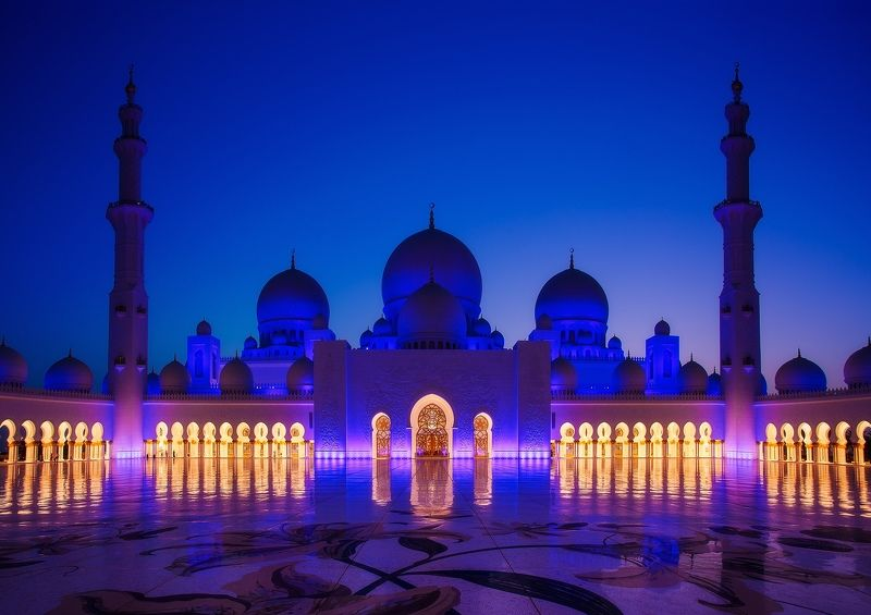 uae, sheikh zayed mosque, abu-dhabi Мечеть шейха Зайдаphoto preview
