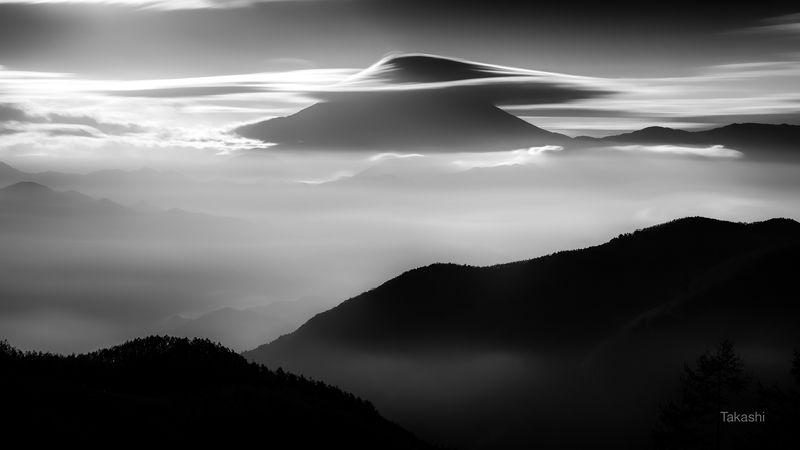 Fuji,mountain,Japan,cloud,amazing,fantastic,long exposure,silky, Silkyscape of Mount Fujiphoto preview
