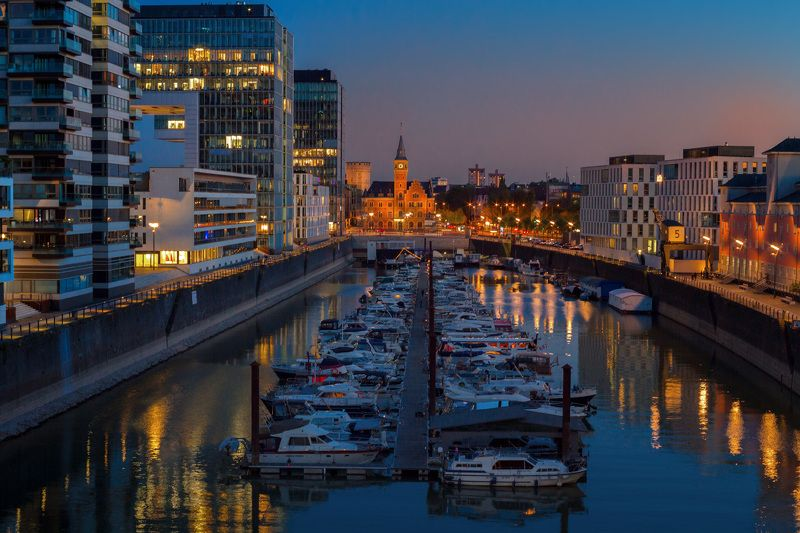 rheinauhafen, köln, кёльн, гавань, река, рейн Кёльнская гаваньphoto preview