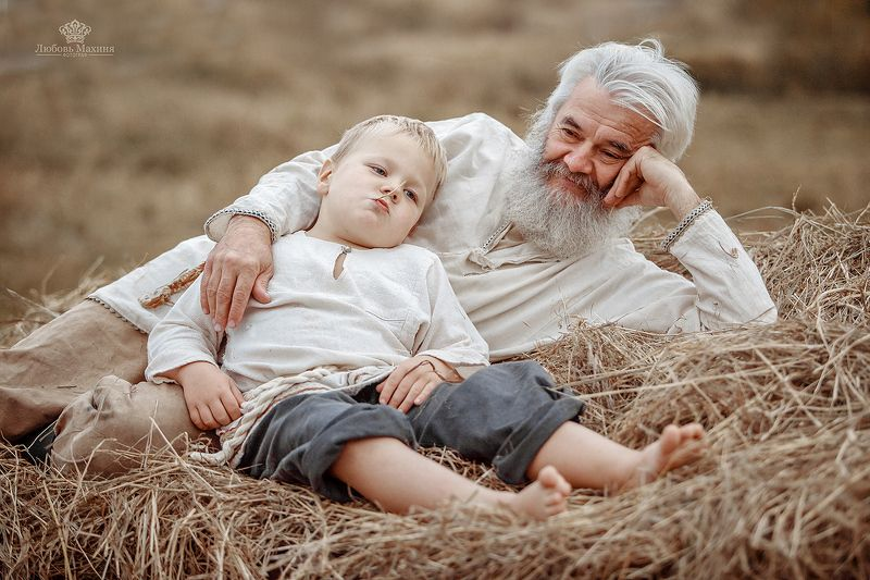 Один день из жизни дедушки Михаила и внука Евдокимаphoto preview