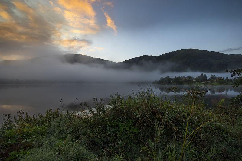 норвегия Утренняя туманнаяphoto preview
