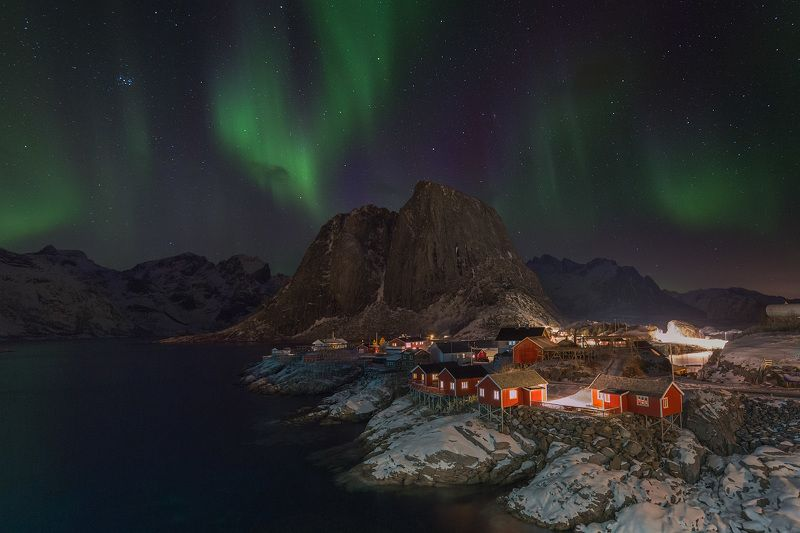 норвегия, лофотены, norway, lofoten, Полярная сказкаphoto preview