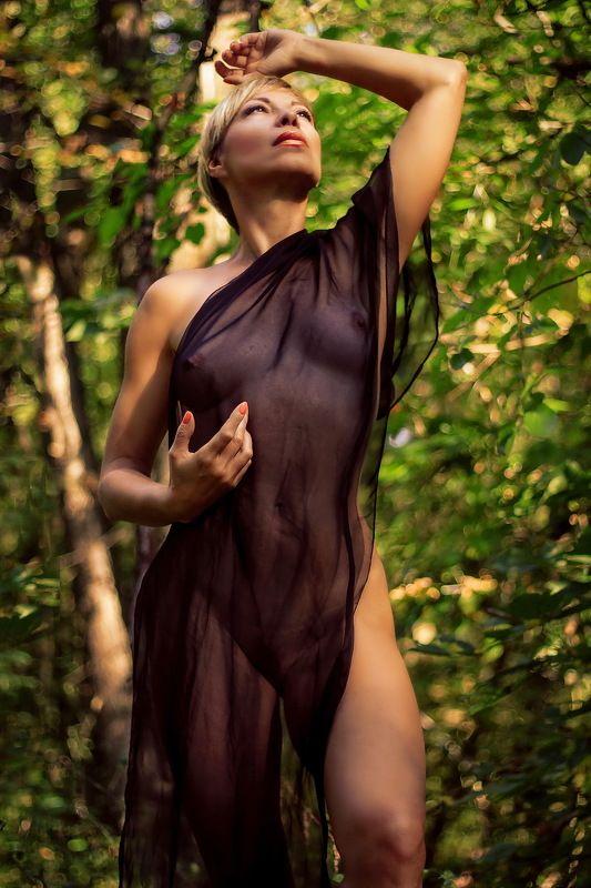 лес, девушка, ню..лето.. Возрождение...photo preview