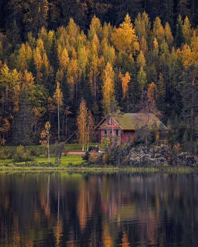 карелия, осень, ладога, октябрь Осень в Карелииphoto preview