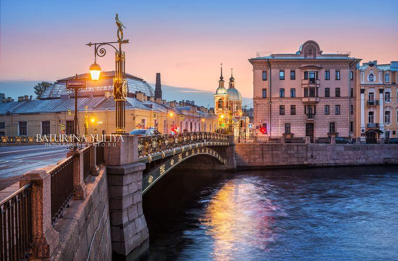 санкт-петербург, пантелеймоновский мост Пантелеймоновский мостphoto preview