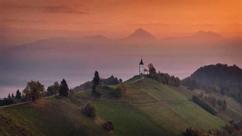 slovenia, словения, туман, ямник, jamnik, alps Утро в Юлийских Альпах.photo preview