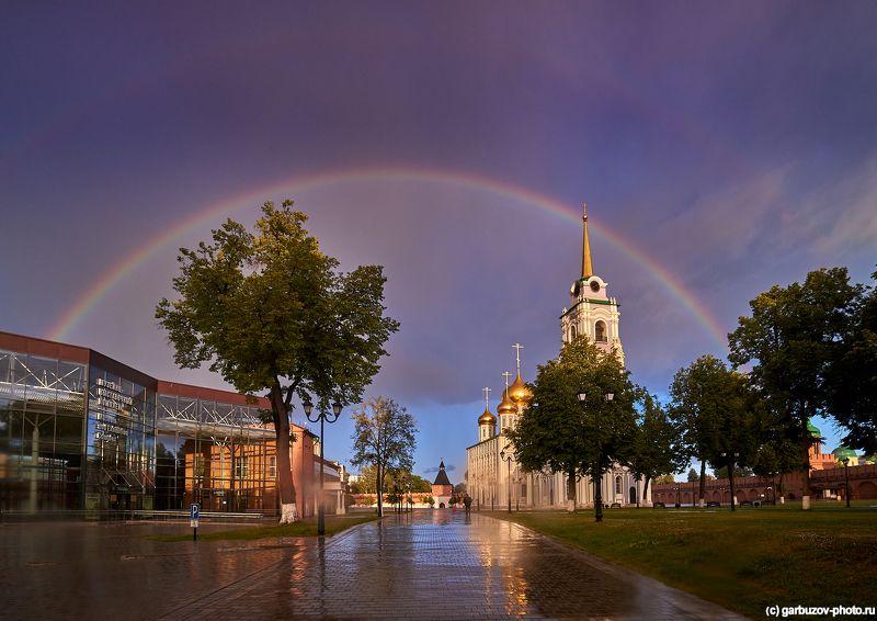 Радуга над Тульским Кремлемphoto preview