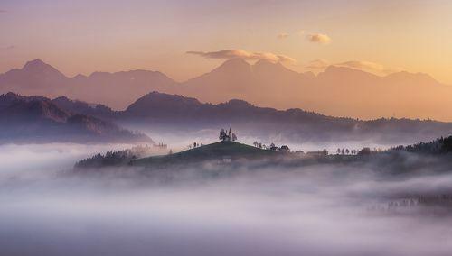 Утро в Словении