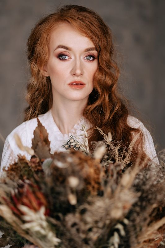 girl, portrait, redhead, russia,  Annaphoto preview