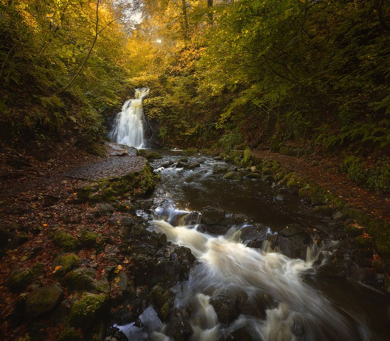 ireland, waterfall ***photo preview