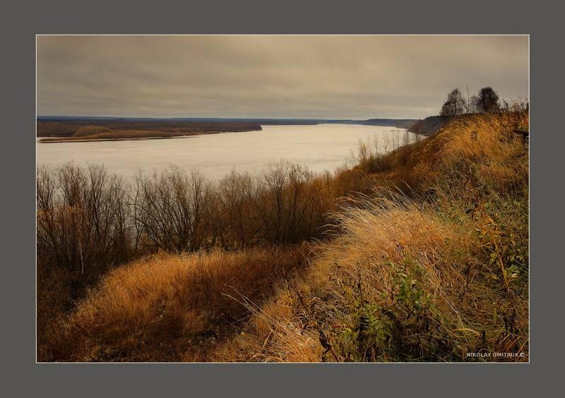 пейзаж белая река. окт. 2018photo preview