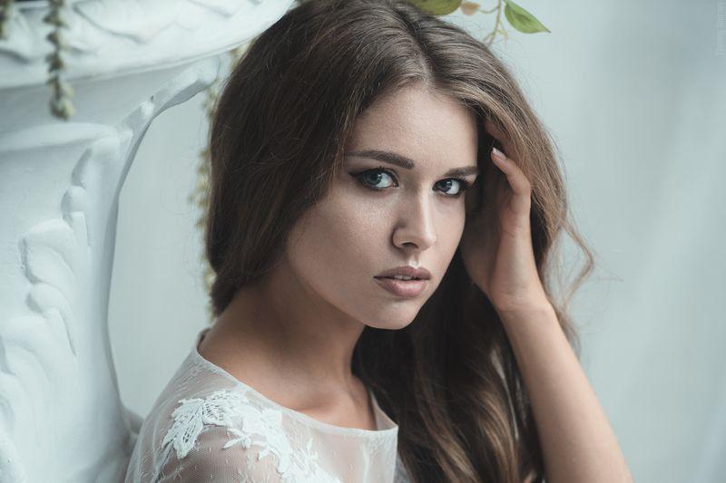 девушка, портрет, милая, cute, girl, portrait, невеста, bride Lanaphoto preview