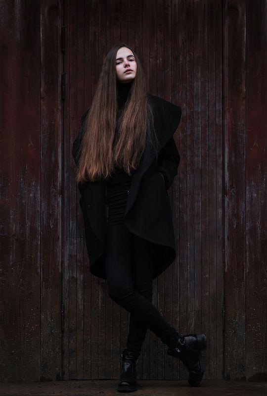 настя, портрет, осень Forever youngphoto preview