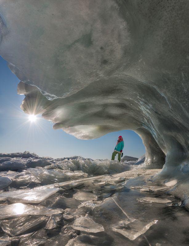 Парочка вертикалок зимнего Байкала.photo preview