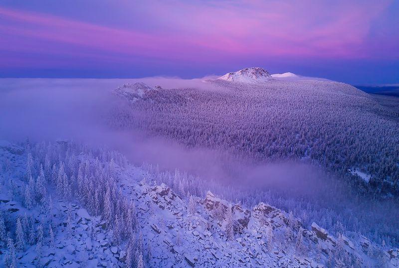 таганай, урал, горы, зима Волшебство Таганаяphoto preview