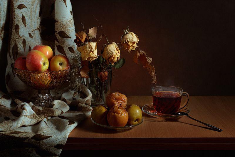 зимнее лакомство,яблочки печёные,,photo preview