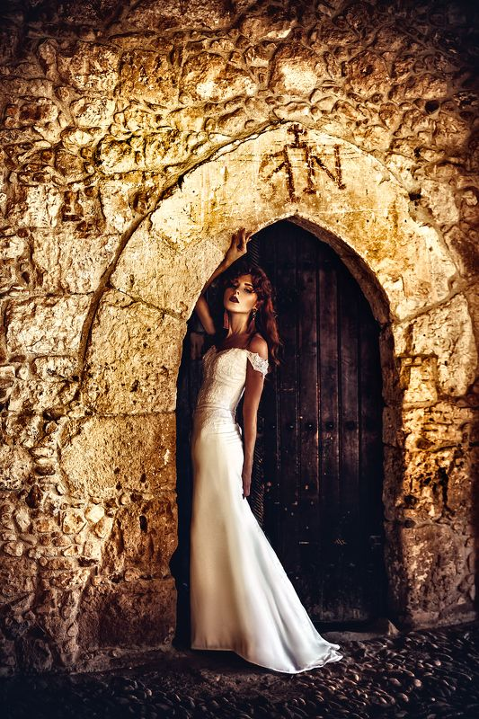 woman, art, portrait, fashion, beauty, natural light The Abbey Bridephoto preview
