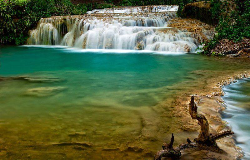 krushuna, waterfalls, water, summer Krushuna waterfallsphoto preview