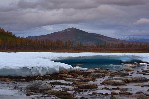 Вечный ледник...
