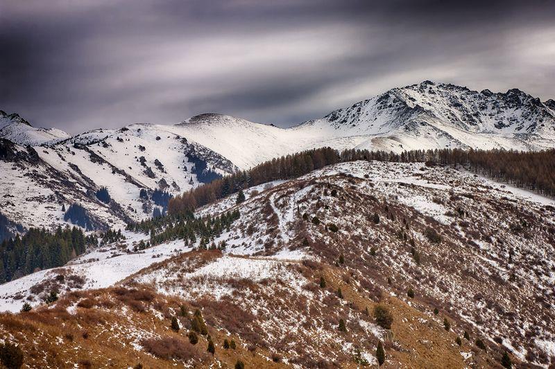 кыргызстан, горы По дороге в зимуphoto preview